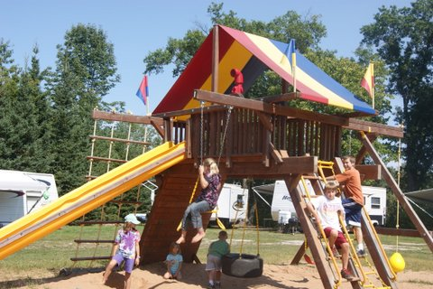 Red Barn Campground Facilities Playground